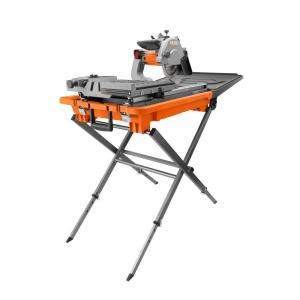 tile saw home depot ridgid 8 in tile saw with stand r4040s the home depot