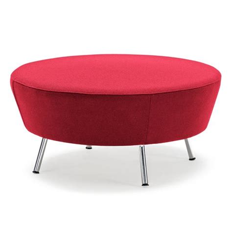 red round sofa modular sofa wave round stool red aj products ireland