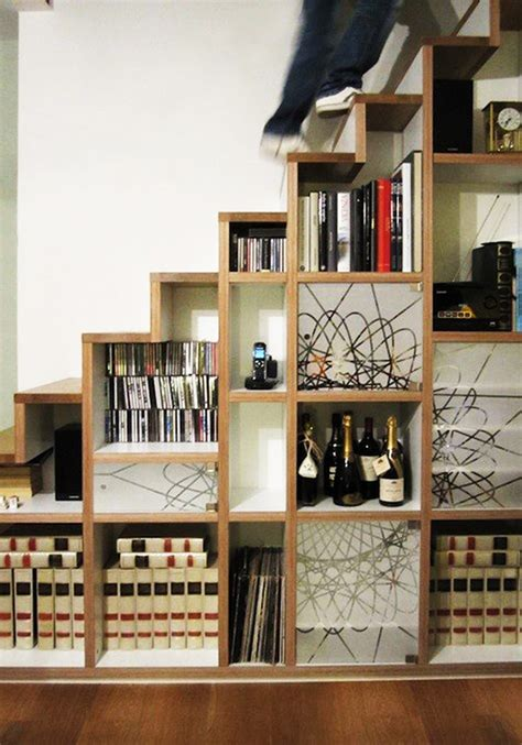40 stairs storage space and shelf ideas to maximize