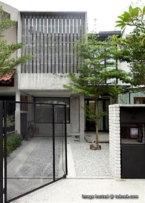 beautiful double story house  malaysia google search main gate