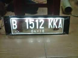 Menerima Pembuatan Plat Nomor Kendaraan aditya acrylic jakarta plat nomor kendaraan acrylic