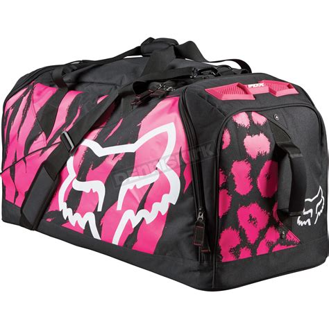 fox motocross gear bags fox black pink marz gear bag 12271 285 ns atv dirt bike