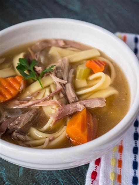 recipe for turkey soup from carcass turkey carcass soup recipe cooker