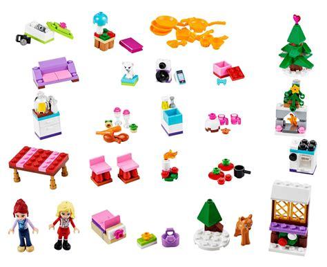 Calendrier De L Avent Lego Friends 2014 Lego Saisonnier 41040 Pas Cher Le Calendrier De L Avent