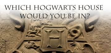 which hogwarts house should you be in based on your