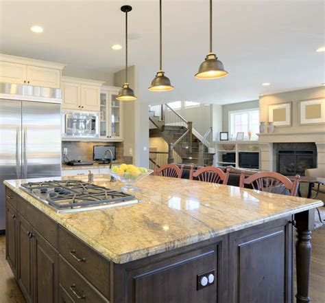 Light Fixtures Over Kitchen Island by Pendant Lighting Fixture Placement Guide For The Kitchen