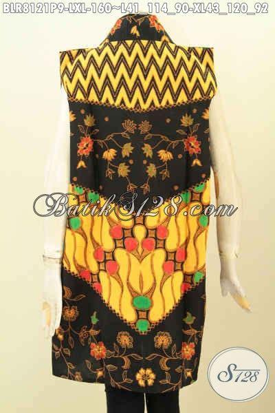 Outer Bagus model baju batik kwalitas bagus outer batik wanita