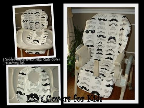 Baby Trend High Chair Cover Replacement by Mustache Replacement High Chair Cover And Bib Universal