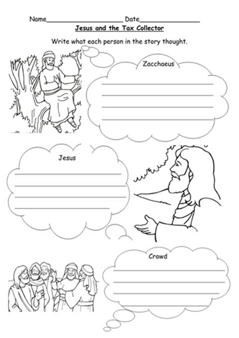 the story of zacchaeus worksheet jesus and zacchaeus worksheet by l e1984 teaching resources tes