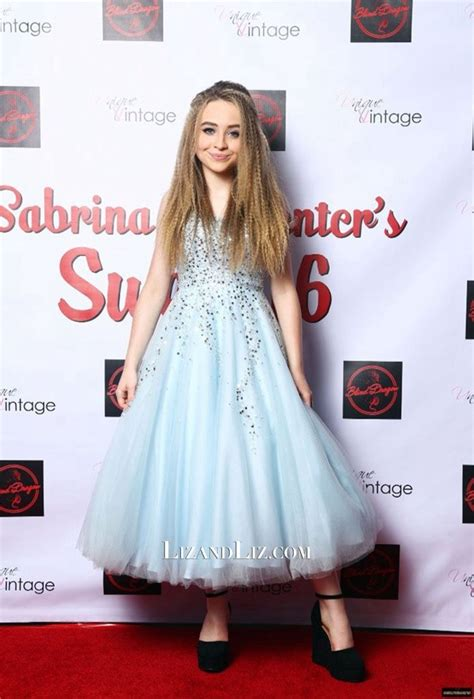 Sabrina White Dress sabrina carpenter blue strapless gown sweet 16