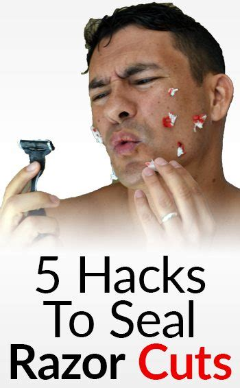 video of jow to razor cut around the ear 5 hacks to seal razor cuts how to stop bleeding after