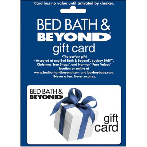 Bed And Bath Gift Card - bed bath and beyond return policy bangdodo