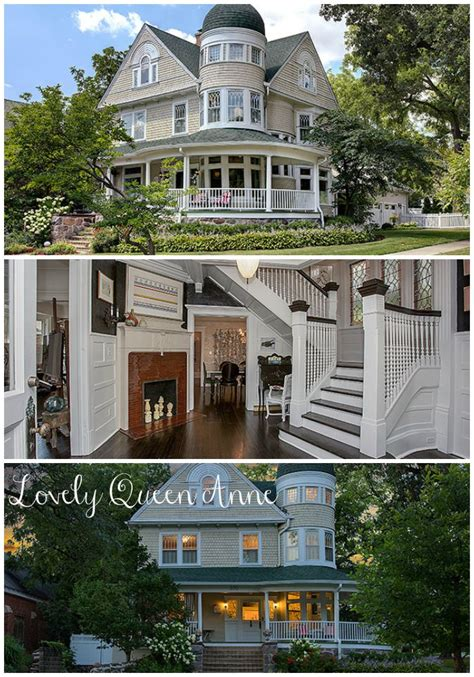Queen Anne Home | queen anne house in illinois for sale is heavenly