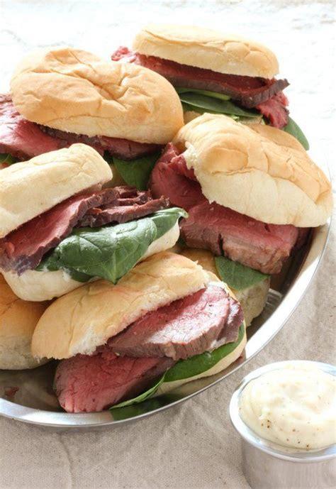 horseradish sauce for beef beef tenderloin sliders with horseradish sauce recipe