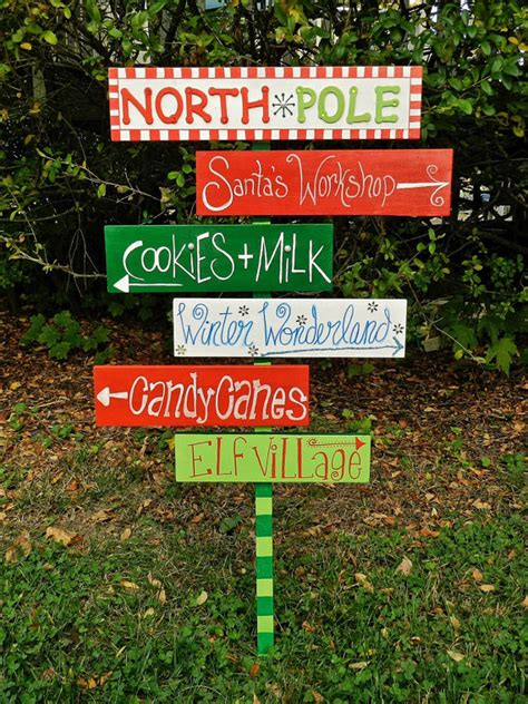 items similar to the north pole sign christmas outdoor