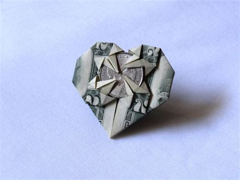 Step By Step Money Origami - dollar bill origami