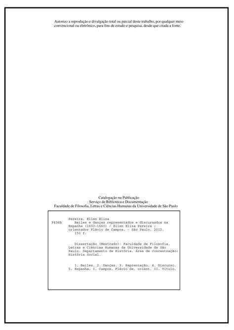 Verso da Folha de Rosto (Obrigatório)   Trabalho Acadêmico