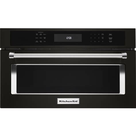 ktts505ebl kitchenaid 1 4 cu ft built in trash compactor kitchenaid 1 4 cu ft built in microwave black kmbp107ebs