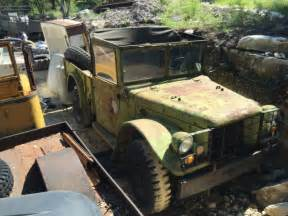 M37 Dodge Power Wagon Parts Two Dodge Power Wagon M37 To Be Used For Parts Or To Build