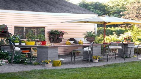 Affordable Kitchen Backsplash outdoor small kitchen affordable outdoor kitchen ideas
