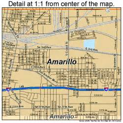 amarillo map of amarillo map 4803000