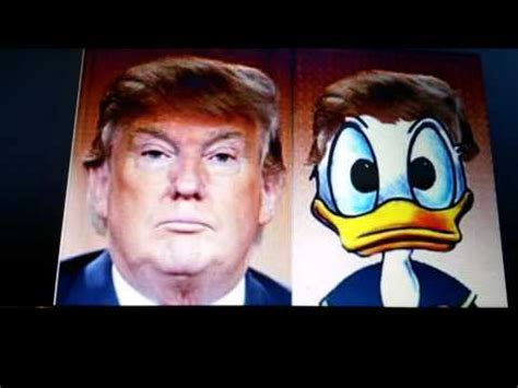 donald trump duck a vote for mickey mouse is a vote for donald trump
