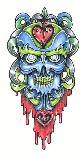 tattoo design new school design new school 3 by tjiggotjurring on deviantart