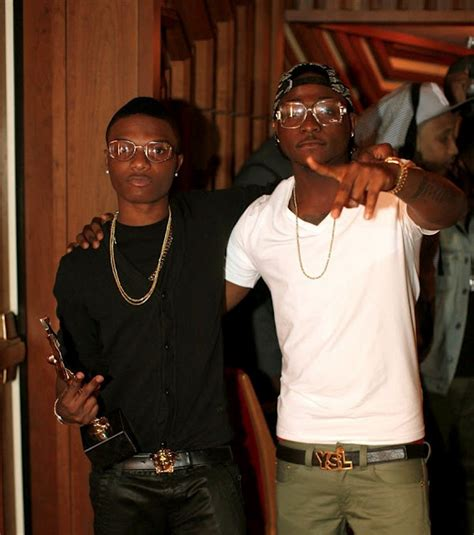 how davido left wizkid at island bar with bill of n500 000 daily post nigeria