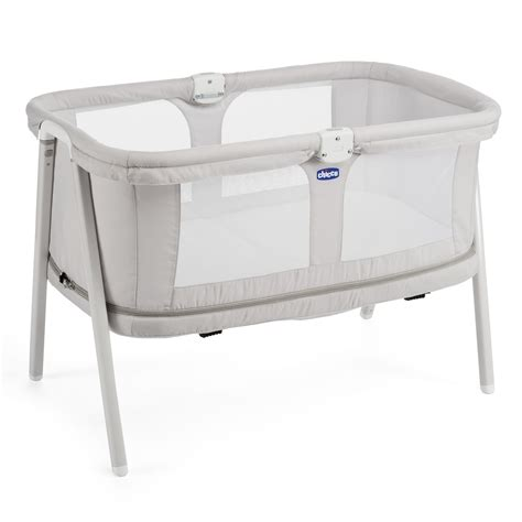 chicco lullago chicco travel cot lullago zip 2017 light grey buy at