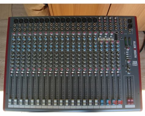 Allen Heath Mixer Live Zed24 allen heath zed24 mixer demo suonostore