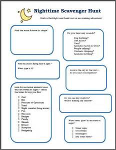 Scavenger hunts hunt s and free printable on pinterest