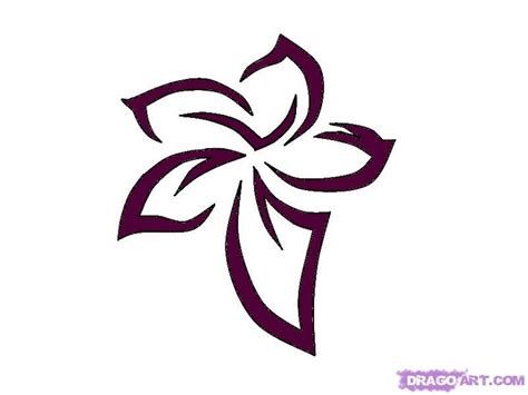 top 25 ideas about hawaiian flower drawing on pinterest