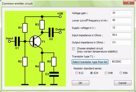 transistor lifier bias calculator howto design a transistor in common emitter configuration with transistor 1 1 software
