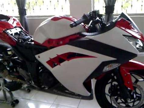 cutting sticker ninja 250r new ninja 250r fi cutting sticker part 1 of 2 youtube