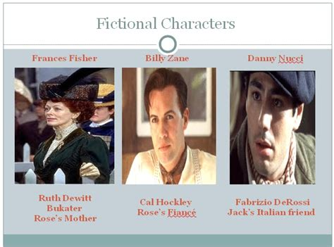 titanic film jack real name titanic fictional characters titanic real vs fiction