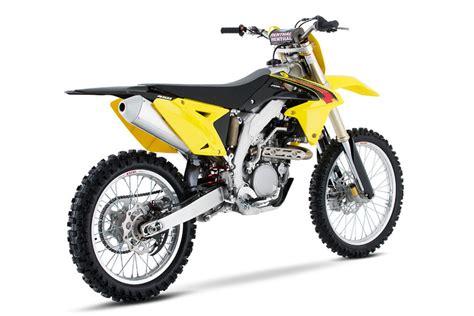 Suzuki Rmz450 Review Look 2015 Suzuki Rm Z450 Motocross Feature
