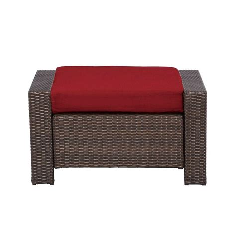 patio ottoman rst brands deco 5 piece patio club chair and ottoman set