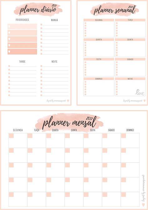 printable calendar inserts 2017 inserts planner 2017 para download planner di 225 rio