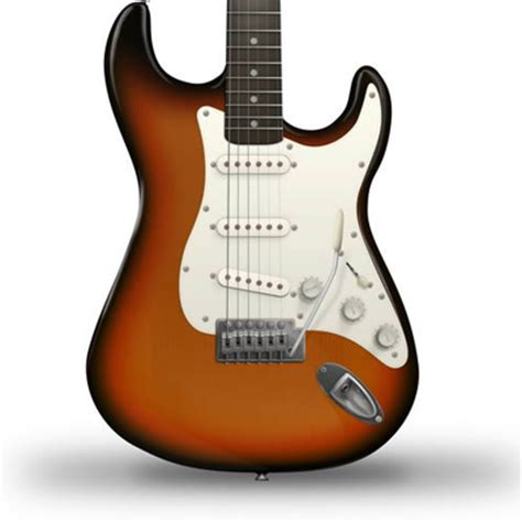 tutorial guitar electric draw an electric guitar in photoshop tuts illustrator