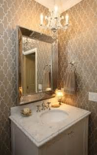 Wallpaper For Small Powder Room 1000 Images About Wallpaper Amp Powder Rooms On Pinterest