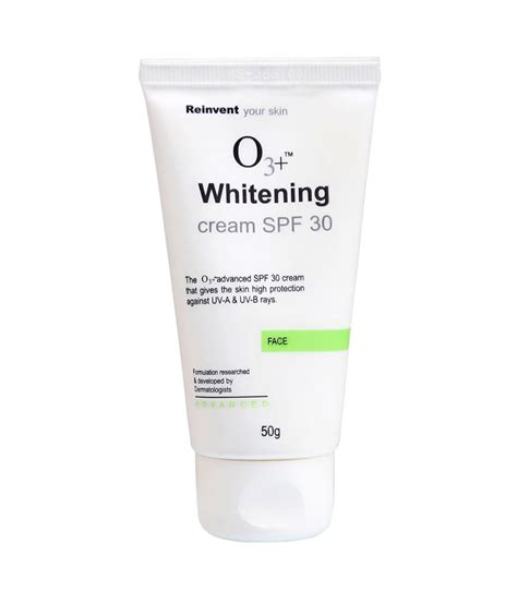 Whitening Day With Spf 30 And o3 whitening spf 30 50g buy o3 whitening spf 30 50g at low price snapdeal