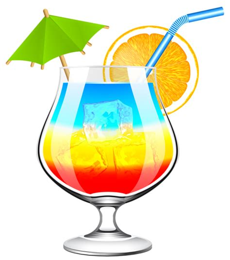 mixed drink clip art summer cocktails clipart 63