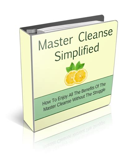 What Do Detox Binders Do by The Master Cleanse Book Everyone S Raving About