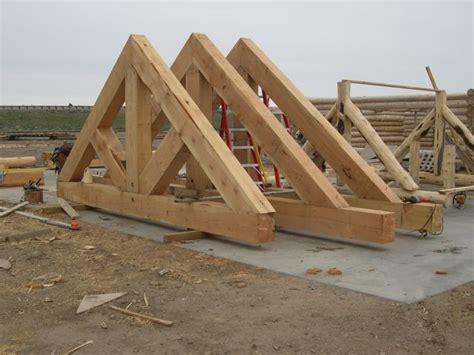 log timber trusses