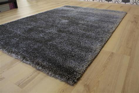 joop teppiche rug spectrum ragolle 80001 uni 4383 grey silver 67x140 cm