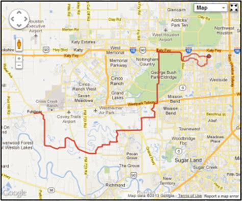 map of fulshear texas sergeant j r hatch park court to fulshear 74 mile route keep on pedaling