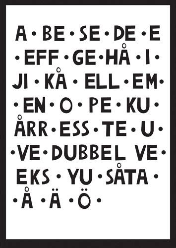 printable norwegian alphabet swedish alphabet dr odd