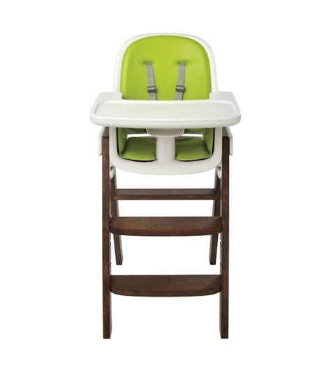 Oxo Tot Sprout High Chair by Oxo Tot Sprout High Chair Green Walnut