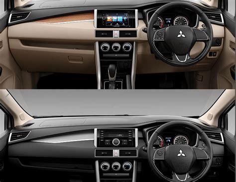 interior mitsubishi xpander harga mitsubishi xpander fitur warna dan spesifikasi
