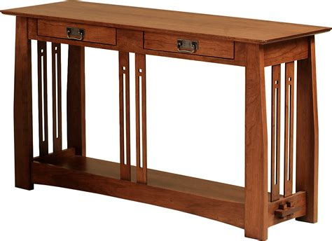 cherry wood sofa table cherry sofa tables custom cherry hall sofa table by dunbar